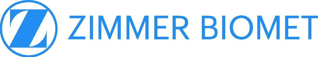 ZIMMER BIOMET logo (blue)
